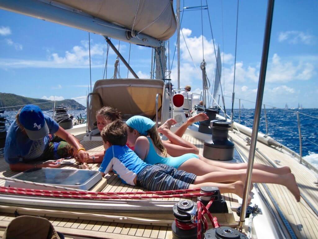 Vacanze in barca con bambini