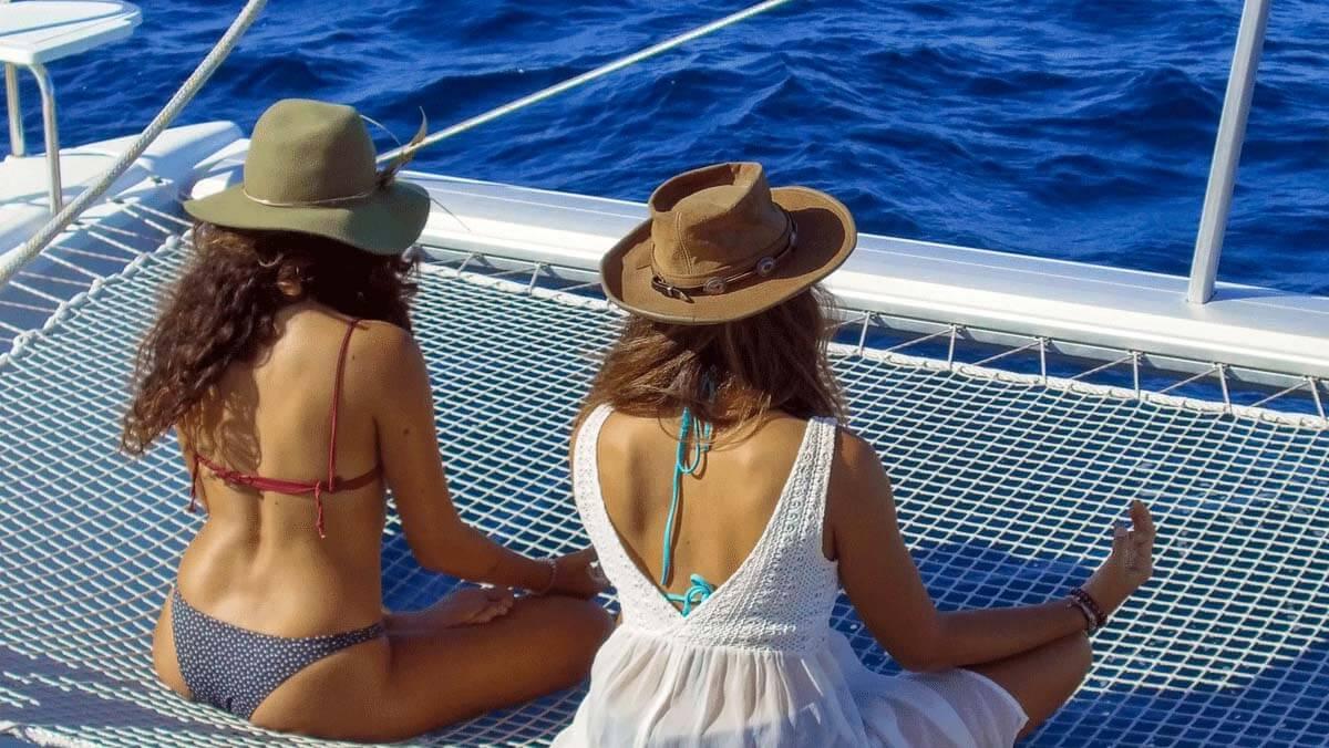Abbigliamento da Chic in barca