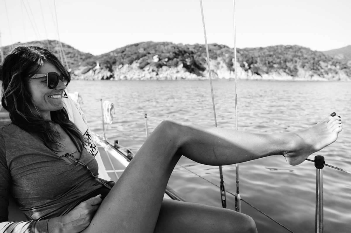 Guardaroba in barca da donna