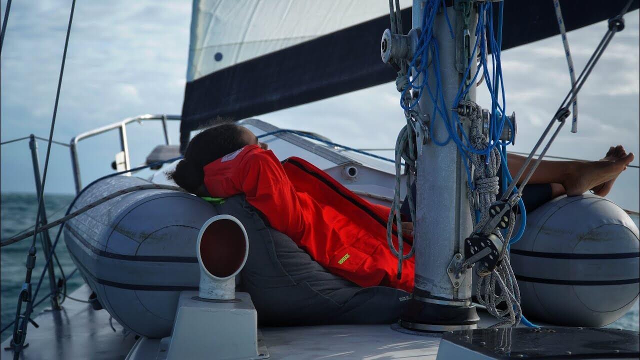 Mal di mare in barca a vela