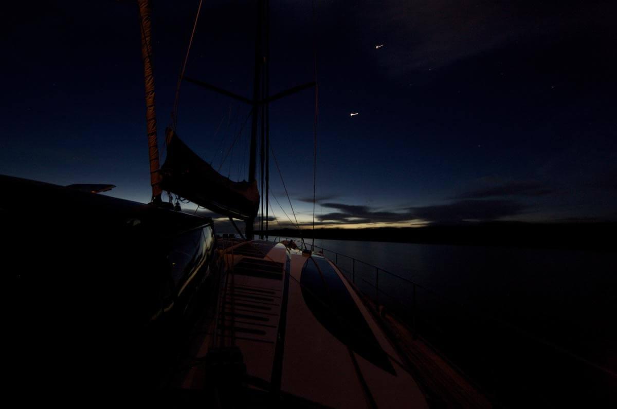 Navigare di notte
