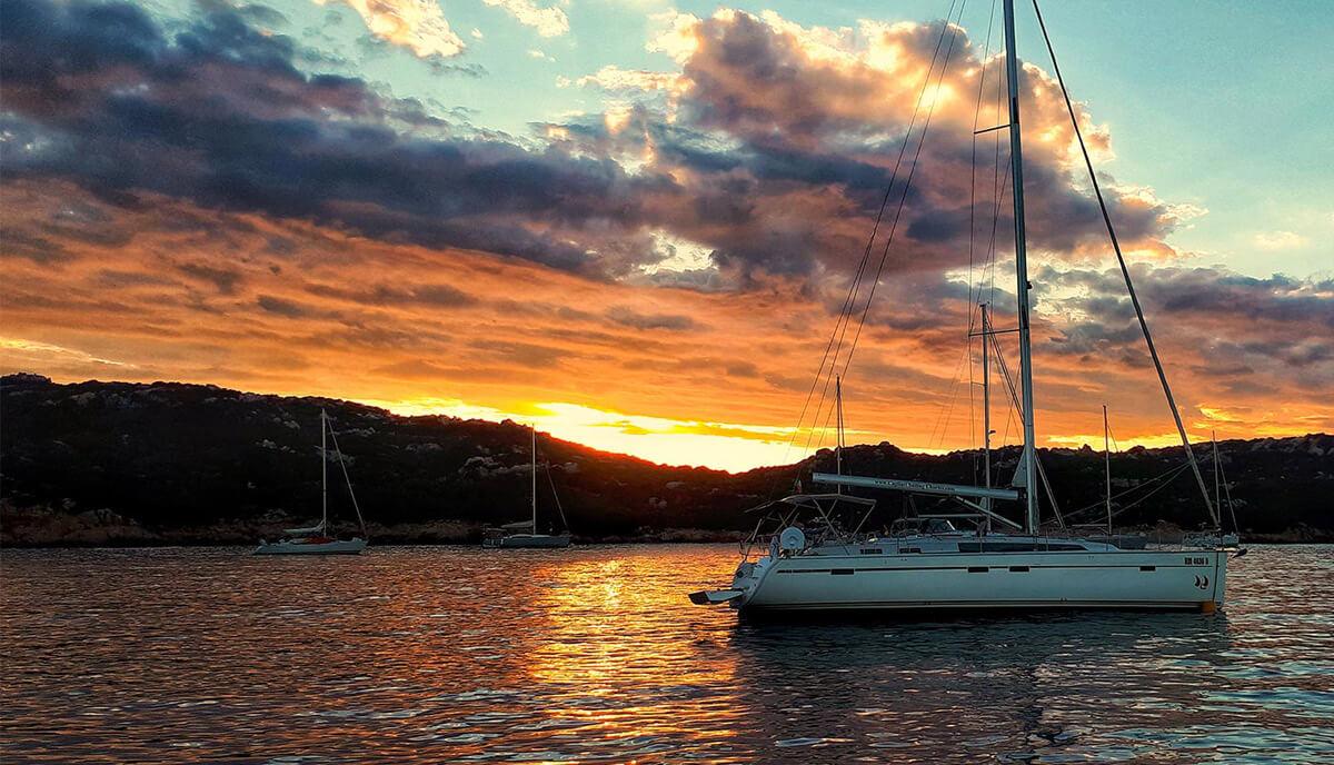 Arcipelago della Maddalena in barca
