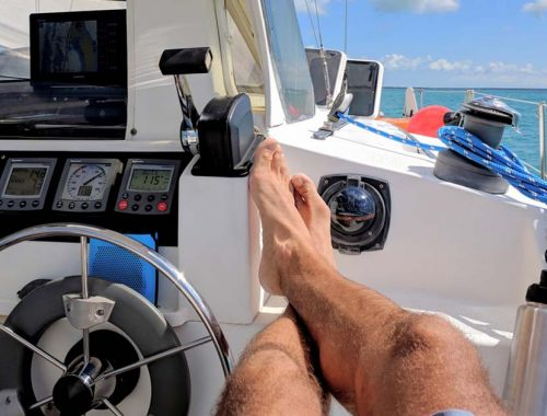 Autopilota barca a vela
