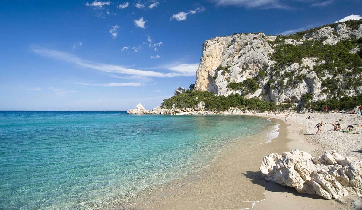 Cala Luna Sardegna italia spiagga mediterraneo