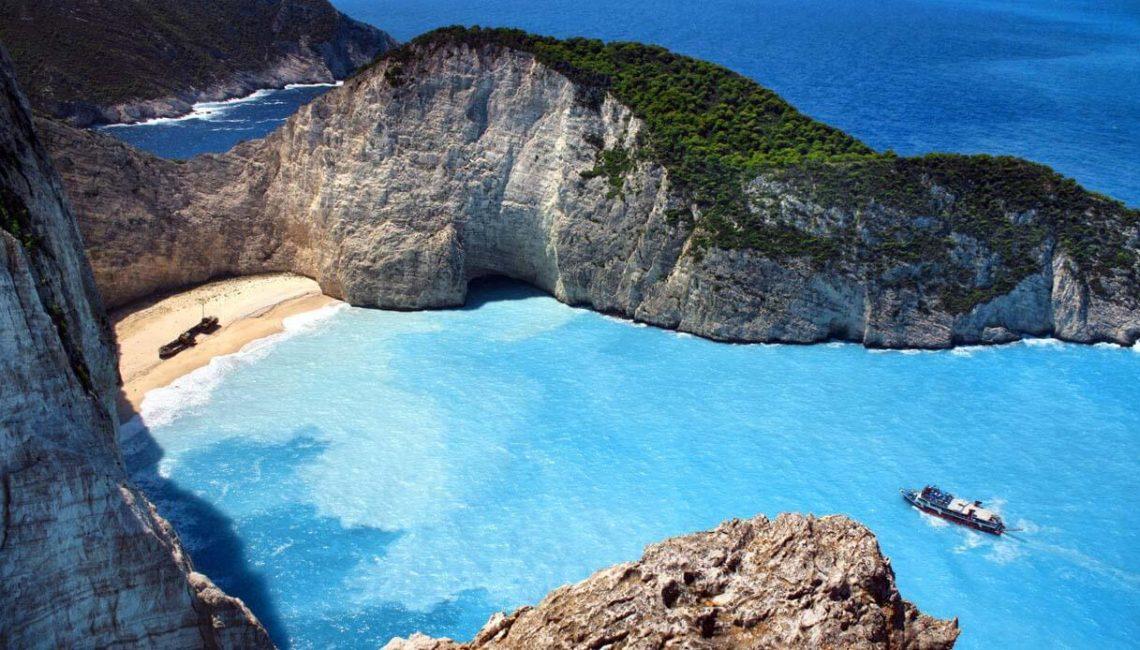 Spiaggia del Naufragio Zante Grecia