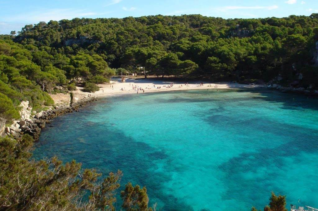 Spiaggia della Macarella Minorca Spagna