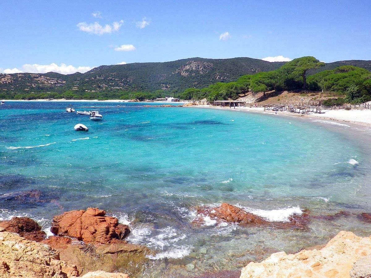 Spiaggia di Santa Giulia Corsica Francia
