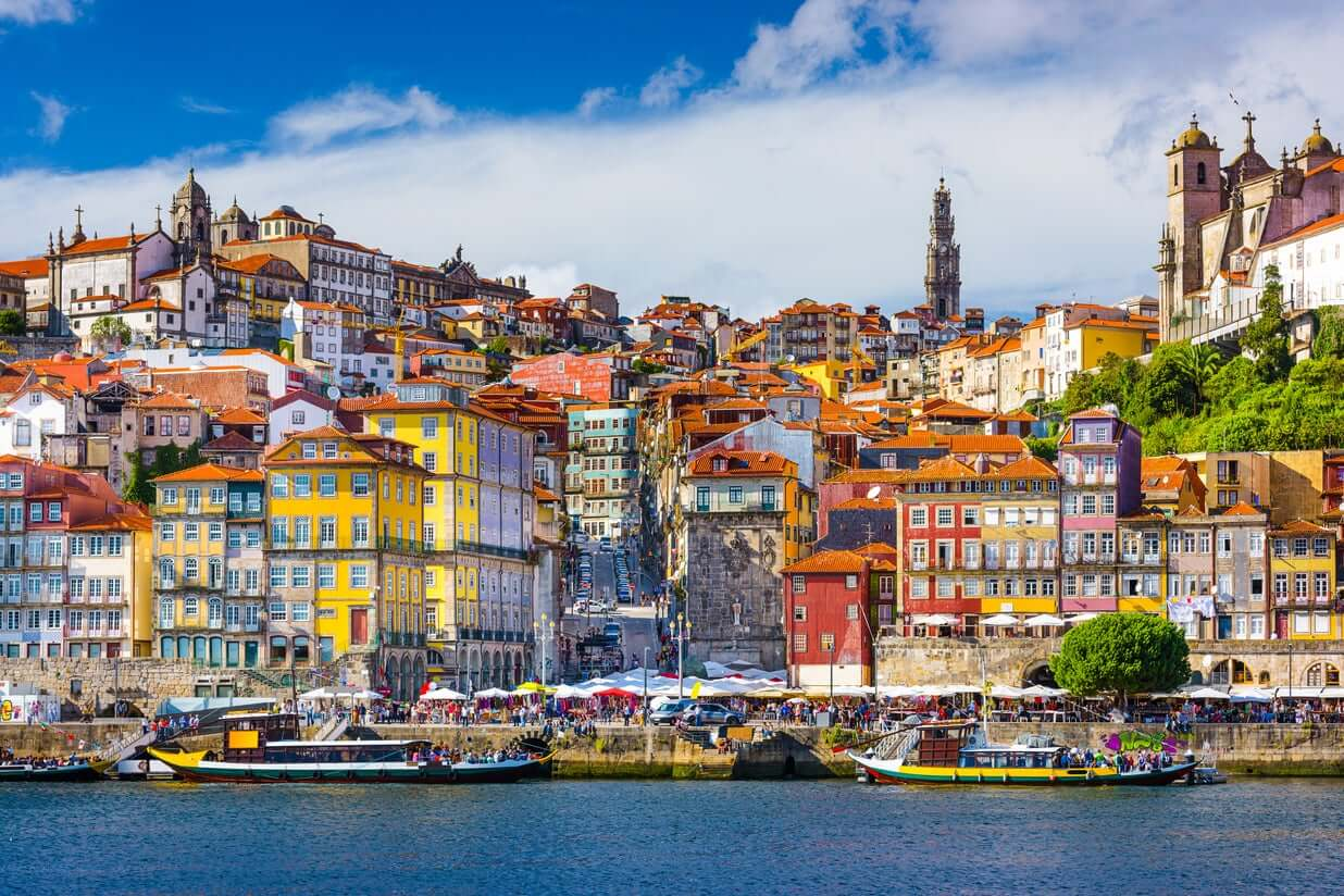Escursione in barca in Portogallo