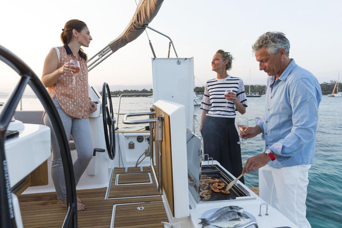 Barbecue barca