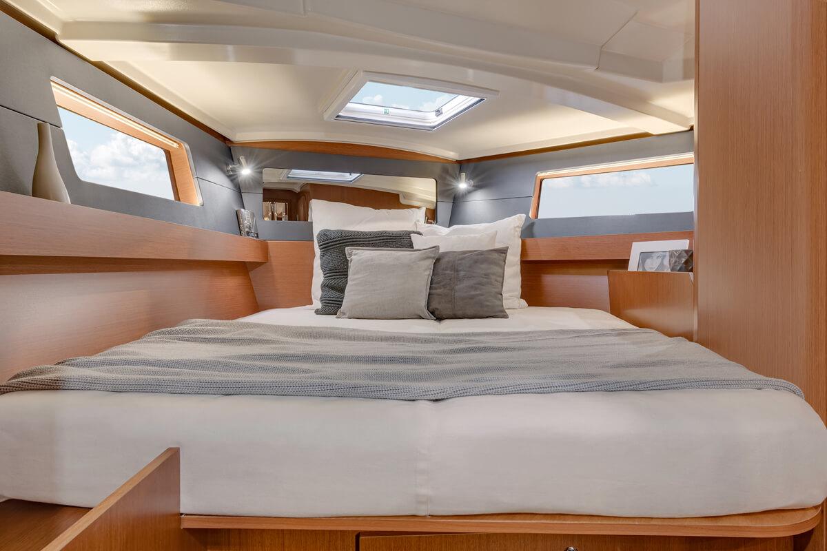 Cabine e materassi barca