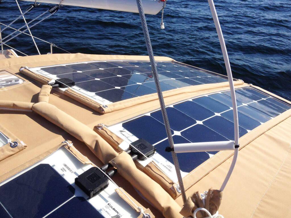 Pannelli solari barca
