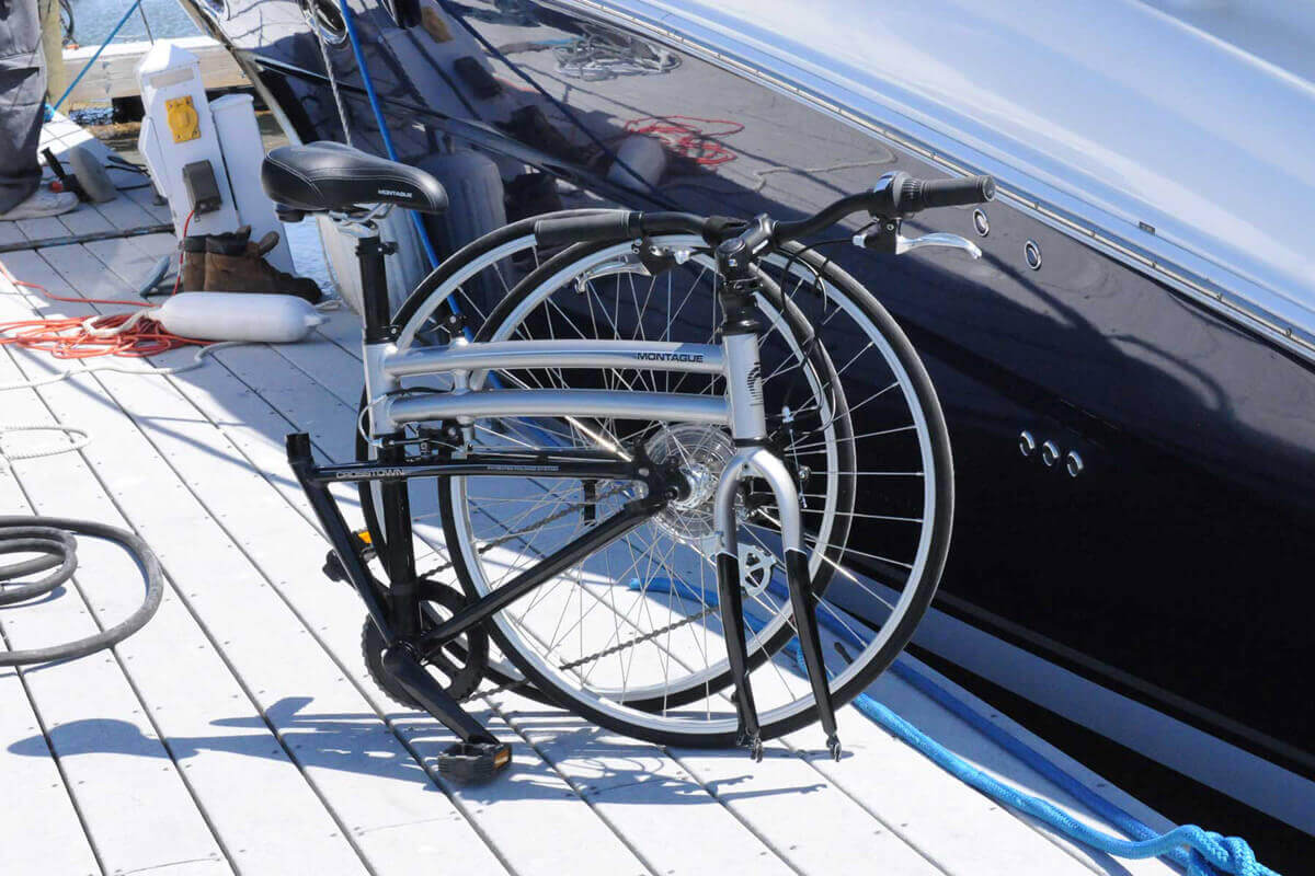 Perché portare una bici in barca