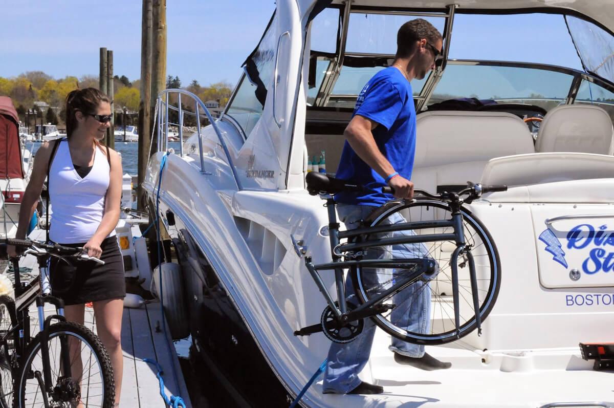 Trasporto bici in barca