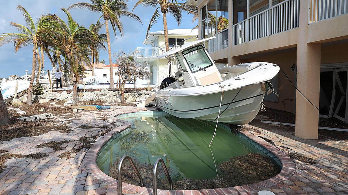 Evitare cicloni in barca
