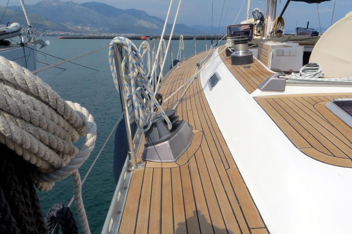 Rassettare coperta barca