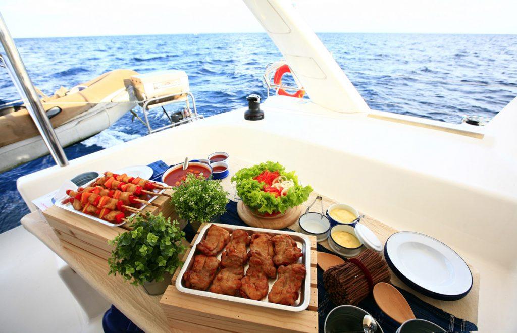 cucinare a bordo
